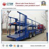 2 - Aanhangwagen van de Vrachtwagen van de Aanhangwagen van het Vervoer van de Auto van de As de Semi in Bevordering