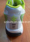 Оптовые салатовые цветы ботинки спорта женщин людей