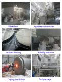飲み物の水処理のための30-50mesh白い球によって作動するアルミニウム