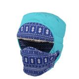 Chapéu morno grosso Windproof ao ar livre da neve do inverno com máscara protetora