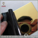 201 304 titanio Coated Stainless Steel Sheet per Building Project