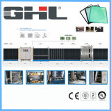Ligne verticale automatique de production de verre isolant plat / machine de lavage et de séchage en verre