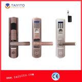 中国の工場低価格の防水生物測定の指紋のドアロック