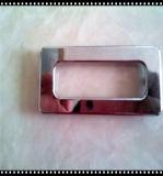 Anel de aço na placa para o barco