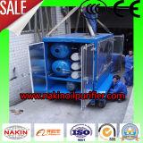 Purificador de óleo dieléctrico do vácuo móvel de Zym da série