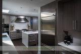 De minimalistische Keuken van de Melamine met de Witte Bovenkant van de Bank van het Kwarts (wh-D573)
