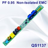 fuente de alimentación sin aislar de la lámpara de 6-20W PF0.95 con EMC QS1137