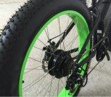 Bici elettrica della lega grassa della gomma della spiaggia con la batteria di 500W 48V/13ah