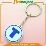 PVC macio personalizado Keychain da forma