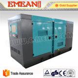 Weifang無声白い防音40kw Higheの品質のディーゼル発電機