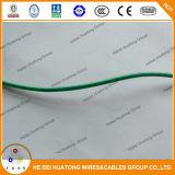 Isolação do PVC 12AWG do UL 83 do fio de Thhn e fio padrão da bainha do nylon