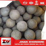 El material B2 forjó la bola de acero para el molino de bola de la mina de cobre
