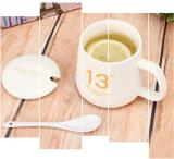 تصميم جديد خزفيّ سفر قهوة [تا كب] إبريق مع غطاء