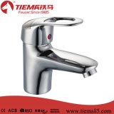 Robinet en laiton de bassin de mélangeur de traitement simple de zinc (ZS70503)