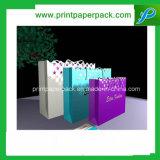 カスタム宝石類の方法ハンドバッグのショッピングギフトの装飾的なクラフト紙袋