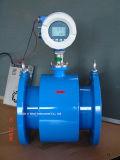 L'eau mètre électromagnétique de masse de débit de compteur de débit/turbine