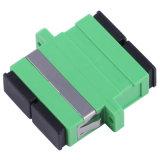 De duplex Optische Adapter van de Adapter Sc/LC/van de Vezel met Flens