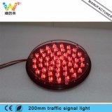 Lampeggiatore poco costoso di colore LED della lampada tre di traffico 200mm