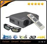 Mini proyector de la pantalla de película casera de la Navidad de los proyectores del DLP de la alta calidad común