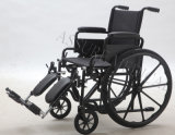 Stahlmanuelles, Legrest erhöhend, Rollstuhl, Falz, (YJ-005-ELV)