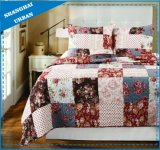 Rose Garden Printed Polyester Patchwork Quilt