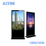 65 Zoll WiFi Kiosk-Digital LCD Fernsehapparat-Kiosk/Digitalsignage-Bildschirmanzeige