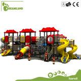 専門家の子供のプラスチックスライドの屋外の運動場装置