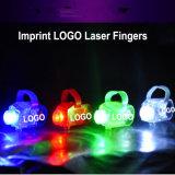 Glühen-Laser-Finger-Träger-Licht-Spielzeug des Abdruck-Firmenzeichen-LED