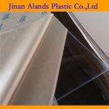 Le matériau clair de lucite a moulé la feuille acrylique
