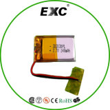 Bateria Prismatic 302030 3.7V 140mAh do polímero do Lítio-Íon