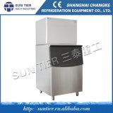 Máquina de gelo do cubo de gelo de 550 Kg/Day para lojas fabricadas cerveja da bebida