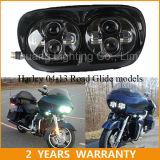 Harley Davidson 도로 활공 2004-2013년을%s 이중 LED 헤드라이트 5.75inch