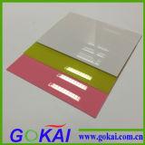 Qualité 100% acrylique transparente de feuille de Vierge