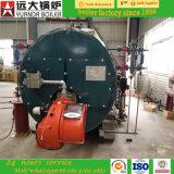 Caldeira de vapor despedida gás 1ton/H do petróleo 2ton/H 3ton/H 4ton/H 5ton/H 6ton/H