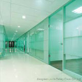 Glace Tempered pour le bureau (mur en verre d'intérieur)