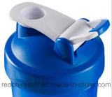 Copo plástico do abanador da proteína do misturador