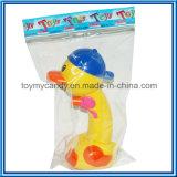 De Zomer die van Chenghai het Plastic Stuk speelgoed van het Kanon van het Water van de Eend van het Beeldverhaal Gele zwemmen
