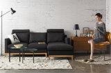 Sofá moderno da tela da mobília 1+2+3 da sala de visitas