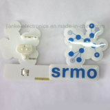 Logo Printed (3161)를 가진 선전용 LED Blinking Heart Butterfly Pins