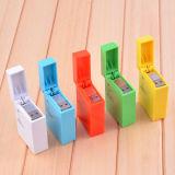 Zippo Feuerzeug-Form-Entwurf einziehbares USB Synchronisierungs-Aufladeeinheits-Kabel