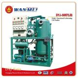 Sistema industrial de la purificación de petróleo de la serie de Dyj