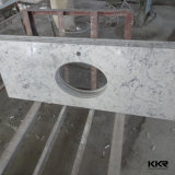 Kingkonree Artificial Quartz Stone Marble Bathroom Vanity Top