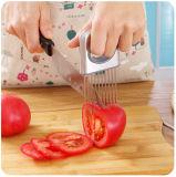 Отсутствие устройств инструмента более Stinky кухни нержавеющей стали мясорубок Tenderizer мяса рук Vegetable варя Slicer держателя томата лука вспомогательного оборудования кухни инструмента