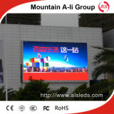 Écran polychrome extérieur d'affichage à LED de la vente P10 d'usine