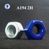 A194 2h Teflonsechskantmutter-Zelle-Nuts gute Qualität