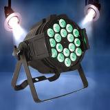NENNWERT LED 18W Rgbawuv Aluminiumstadiums-Disco-Beleuchtung