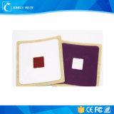 El rango largo Ntag215 imprimible disponible NFC RFID marca la etiqueta engomada con etiqueta