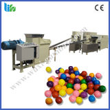 Diversa cadena de producción del chicle de globo de la bola de las formas con el embalaje de la ampolla