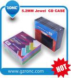 1 cassa di gioiello CD poco costosa di prezzi 5.2mm del hq del contenitore 40 ' con il cassetto nero