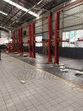 Directo elevación hidráulica del coche de la elevación de 2 postes de la venta 5t de la fábrica
